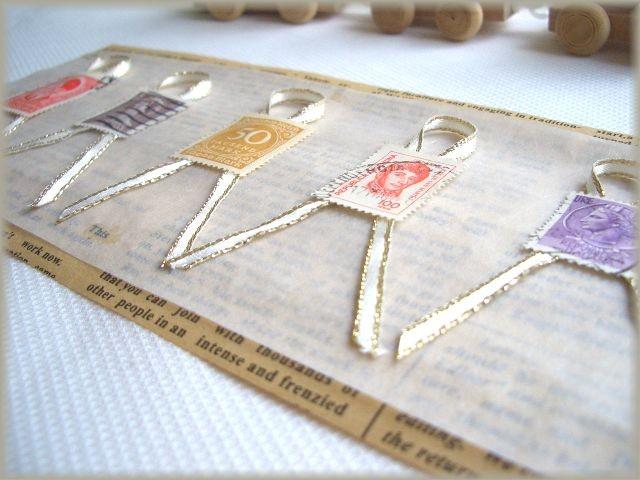 古切手のギフトシール。