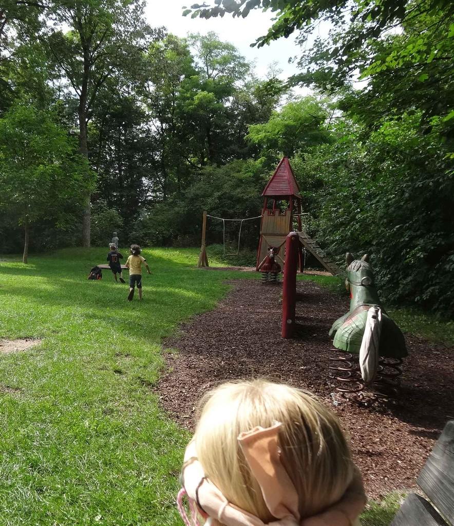 Kindergeburtstag Für Prinzessinnen Am Spielplatz