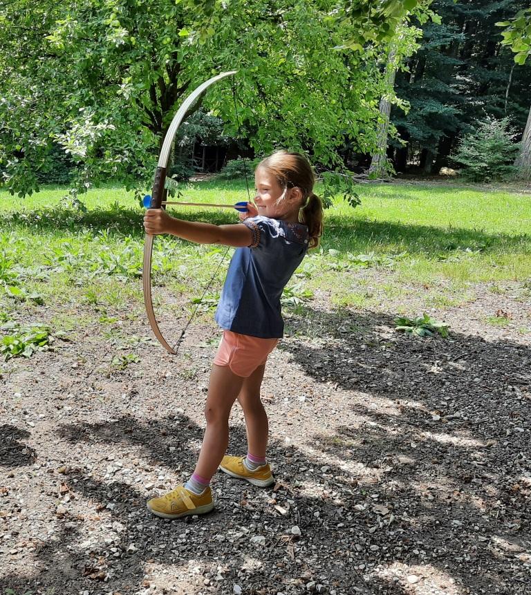 Bogenschützin Robin Hood