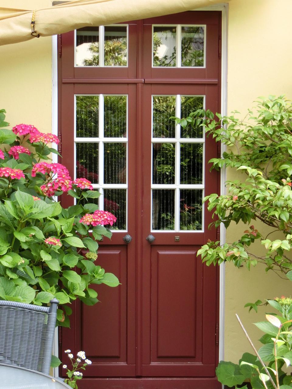 Terrassentür mit Sprossen nach Orignal