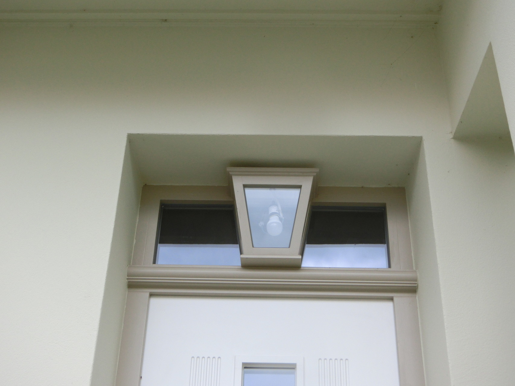 """Holz-Haustür mit Ober""""Licht"""""""