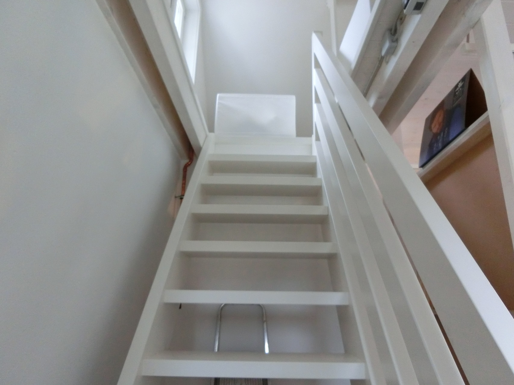 Holz-Treppe