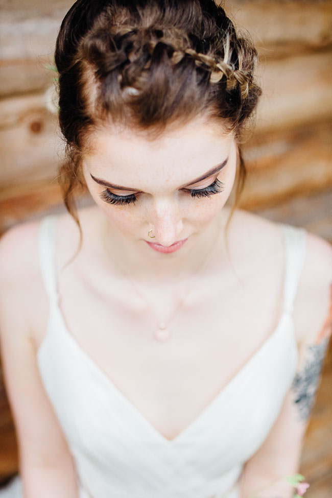Brautshooting Waldhochzeit