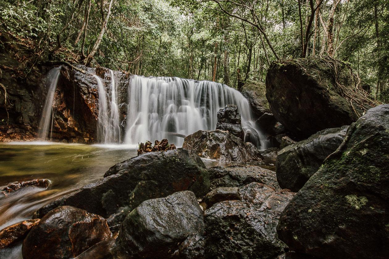 Suối Tranh Wasserfall