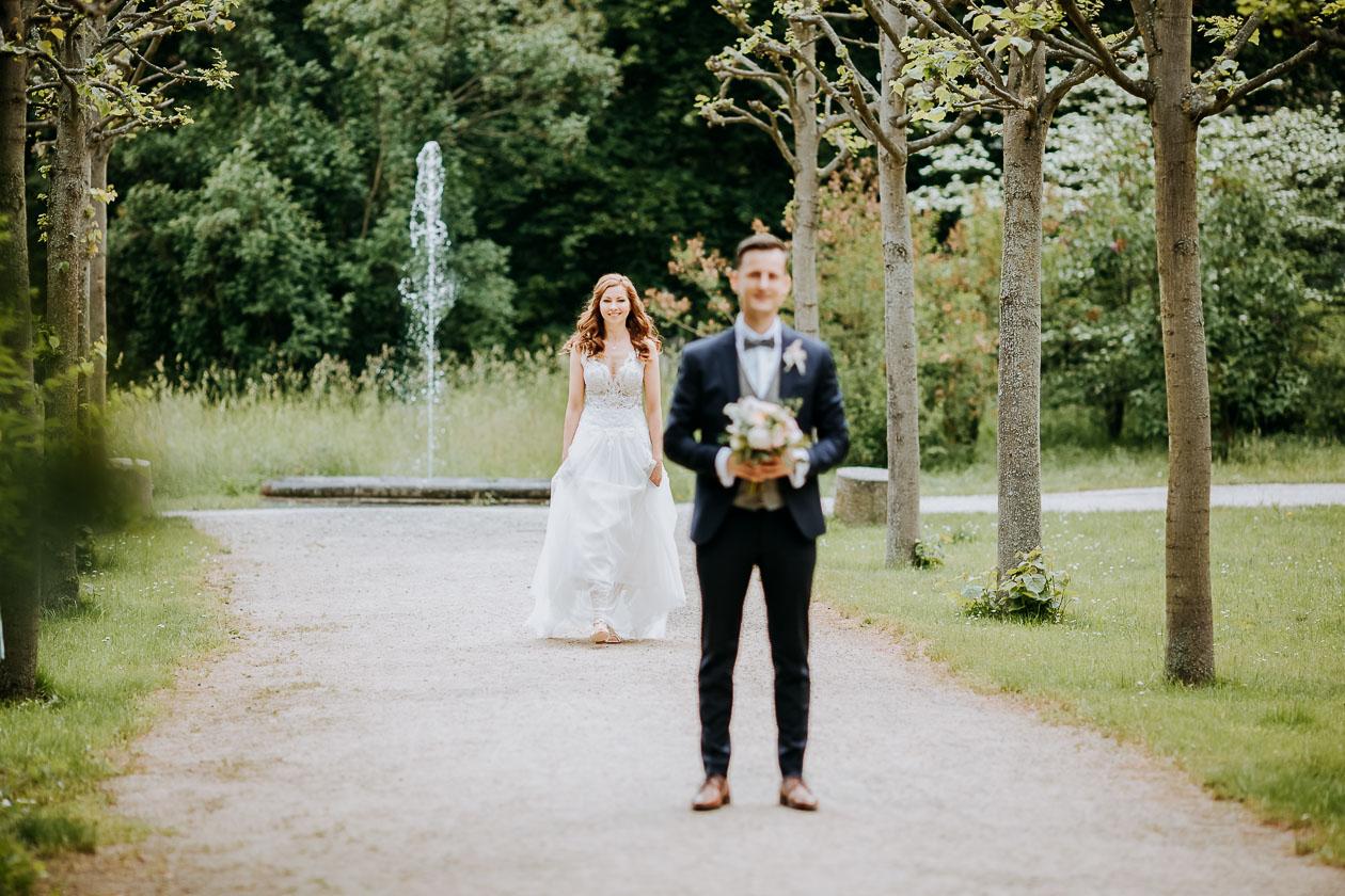 First Look Hochzeit