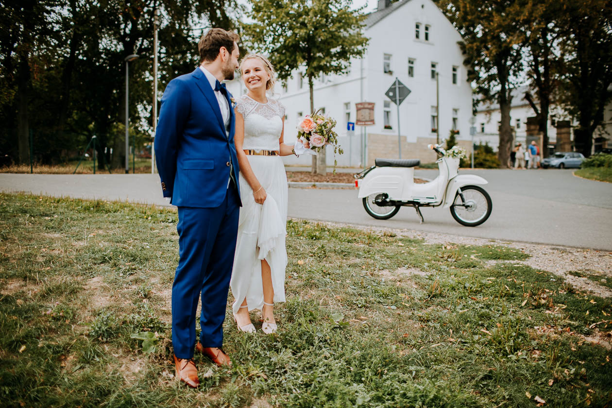 Brautpaar Hochzeit Dresden