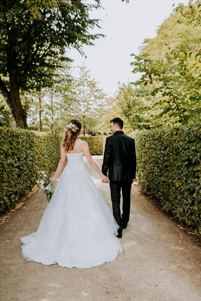 Brautpaar Schloss Wackerbarth