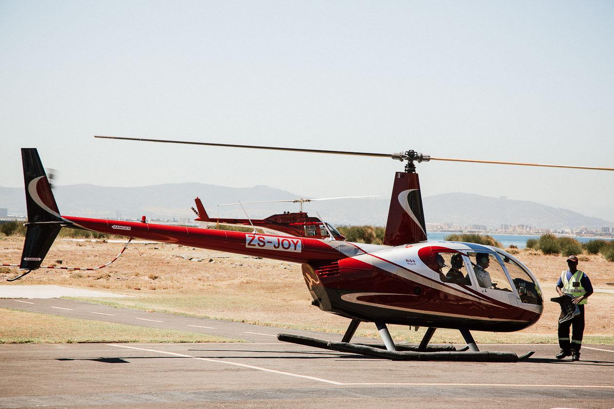 Helikopterflug Kapstadt