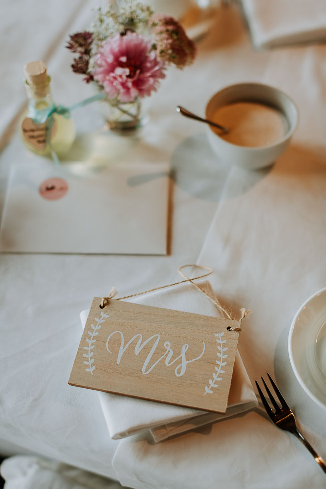 Dekoration Hochzeit