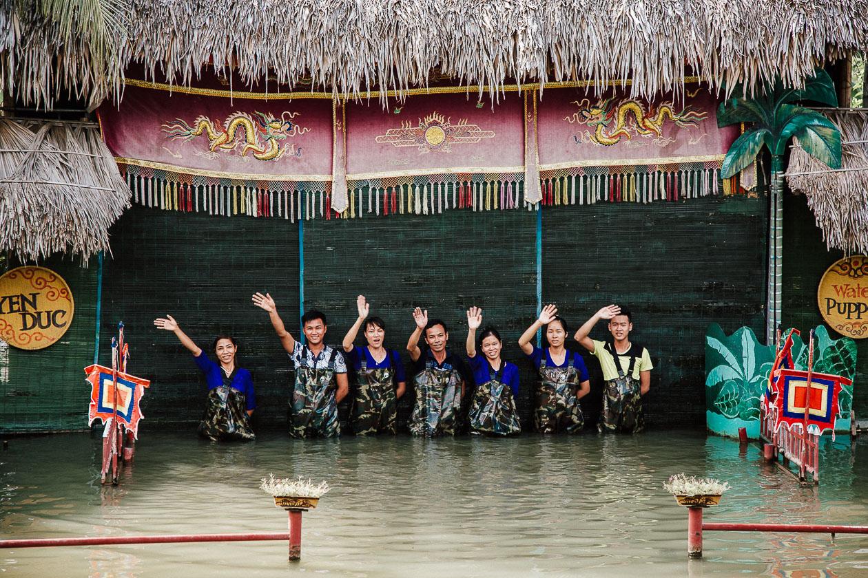 Wasserpuppentheater Yen Duc