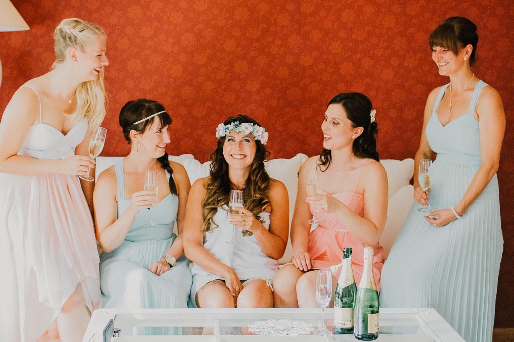 Brautjungfern Hochzeit Coschütz