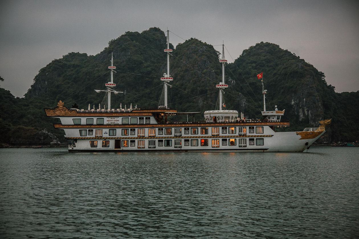 Halong Bucht VietnamHalong Bucht Vietnam