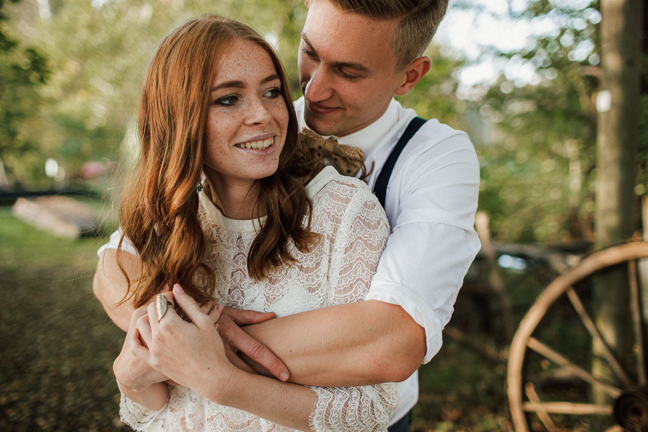 Brautpaar Hochzeit Spreewald