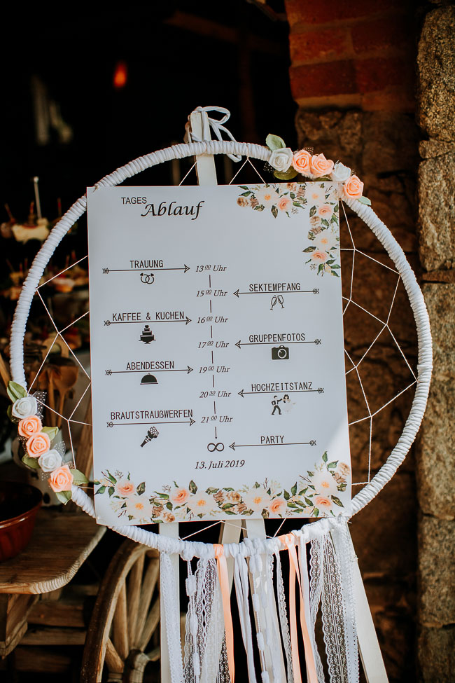 Hochzeitsdekoration Alte Schäferei Oppach