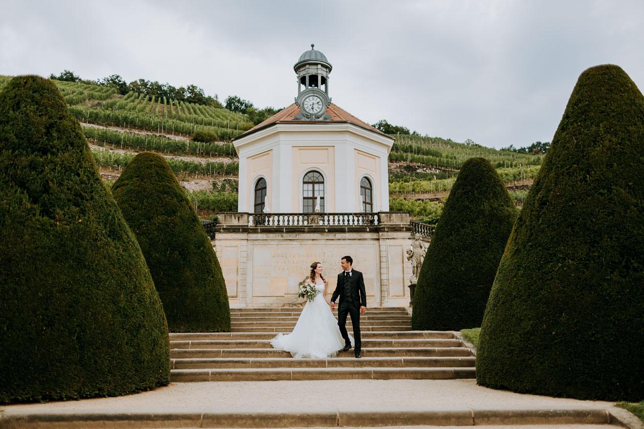Hochzeitsreportage Schloss Wackerbarth