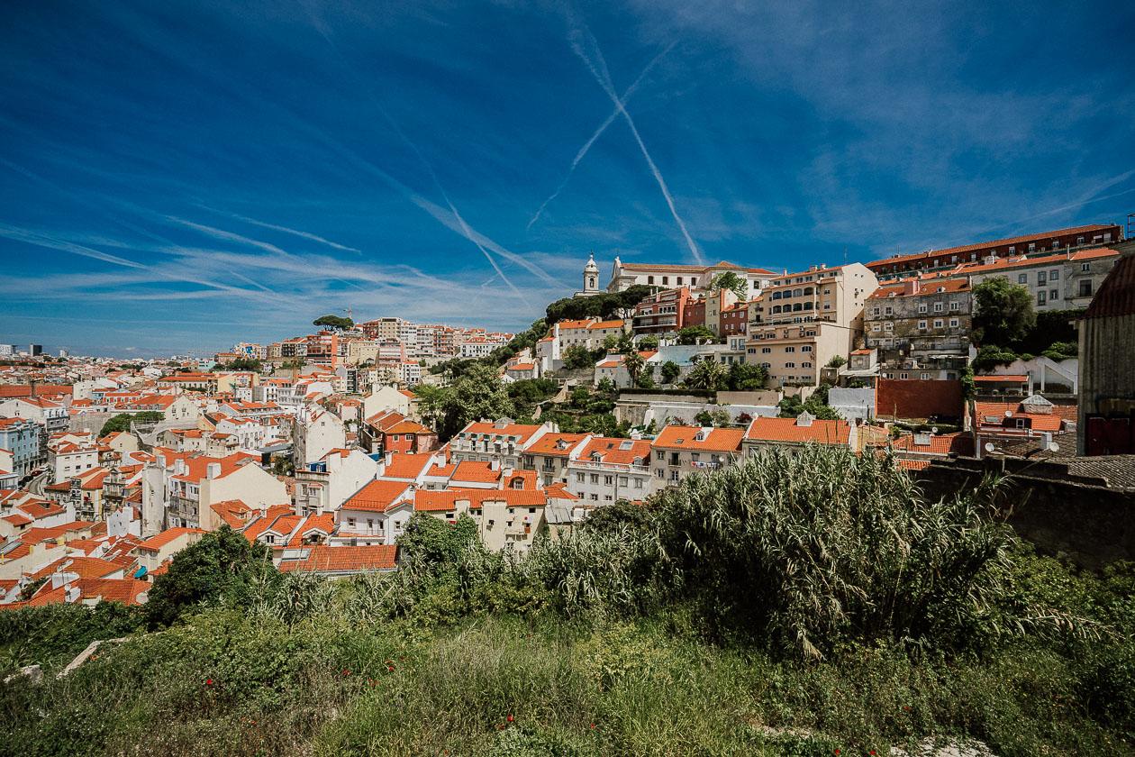 Stadtansicht Lissabon
