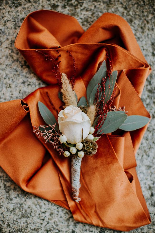 Anstecker Bräutigam Hochzeit