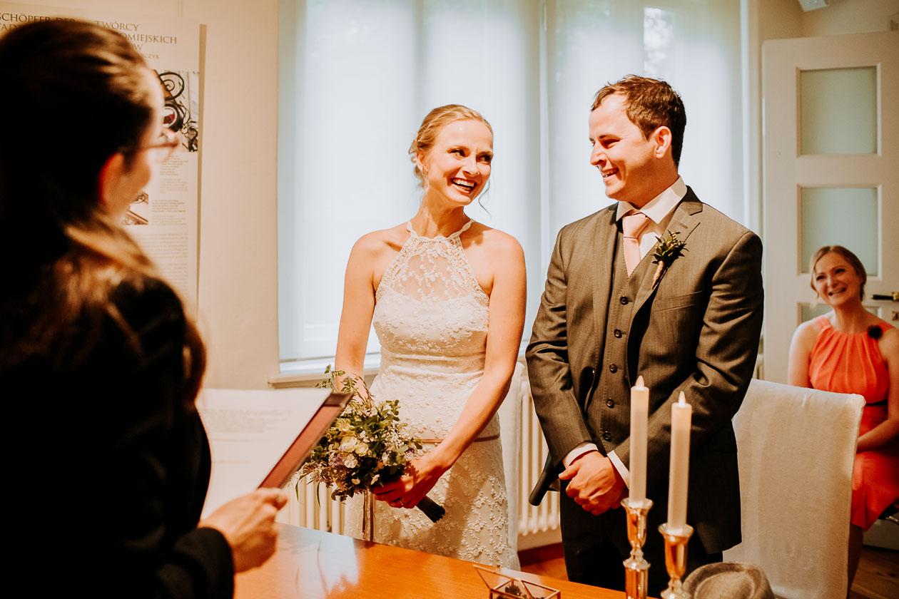 Trauung Brautpaar