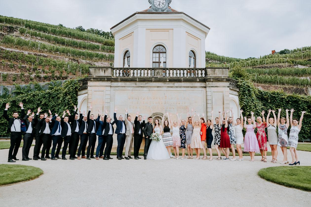 Gruppenbild Schloss Wackerbarth