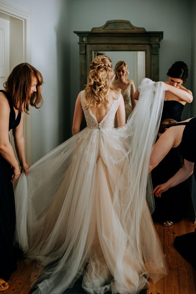 Brautstyling - Hochzeitsfotograf Dresden