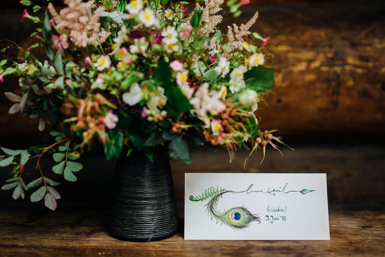 Einladungskarte Hochzeitsfotograf Dresden