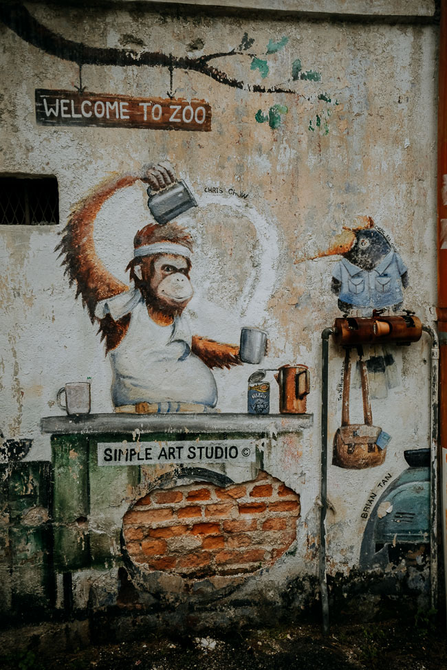 Ipoh Mural Arts Lane