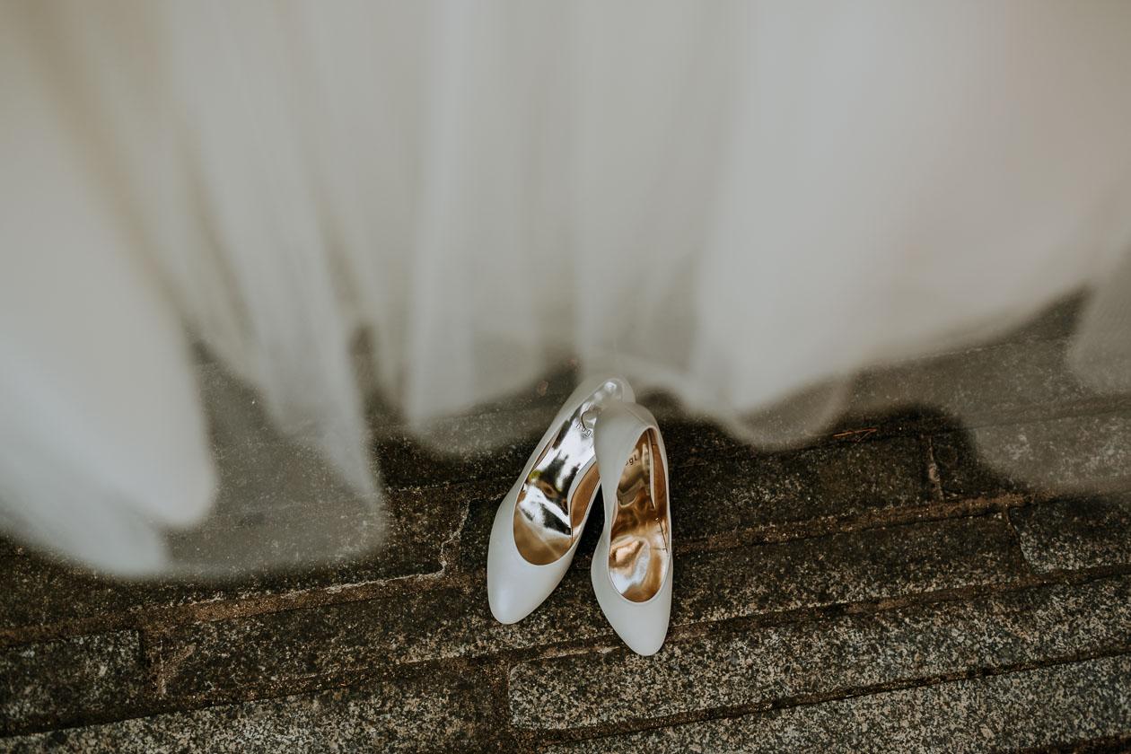 Brautschuhe - Hochzeitsfotograf Dresden