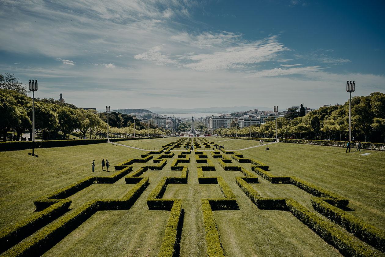 Park Eduardo VII - Lissabon - Portugal
