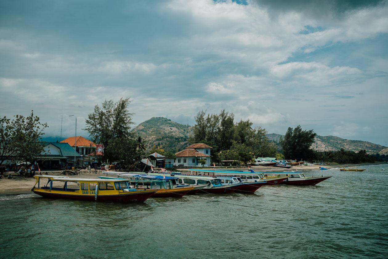 Fährhafen Lombok