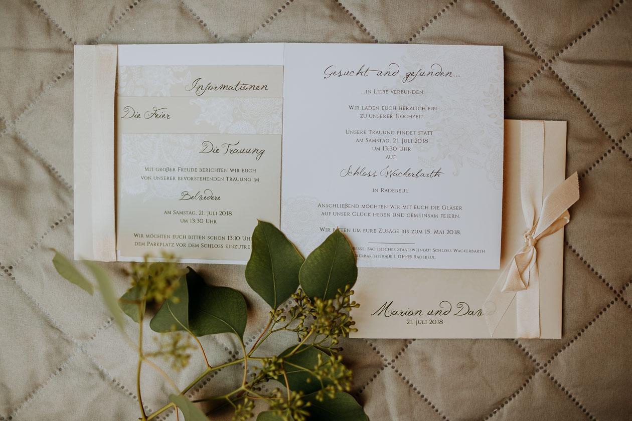 Papeterie Hochzeit