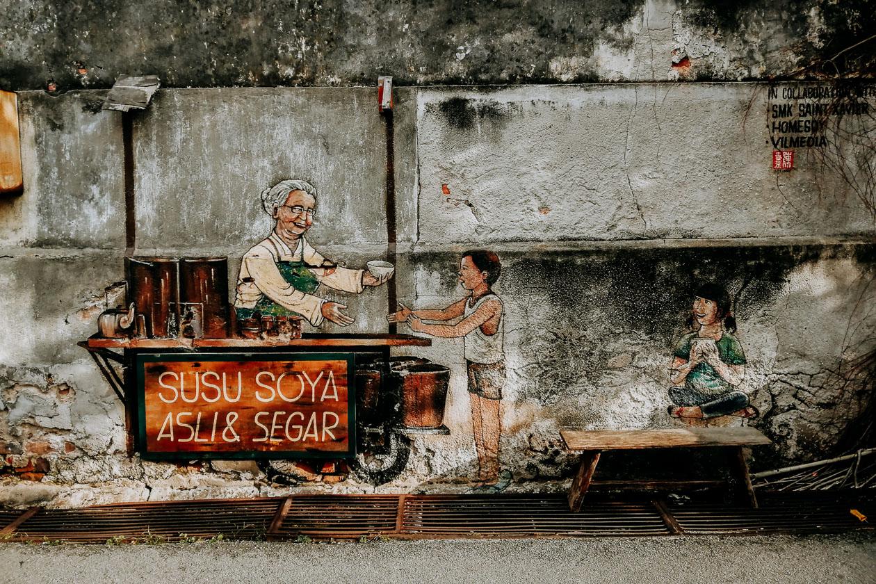 Streetart George Town