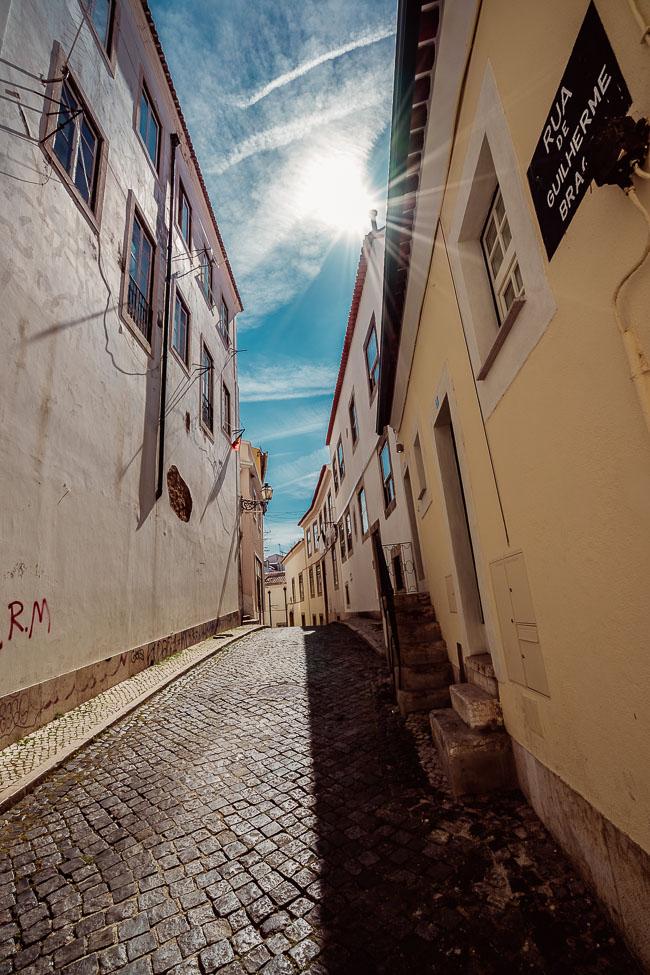 Gasse in Lissabon - Fotograf Dresden