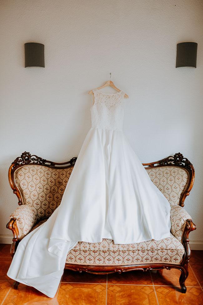 Brautkleid - Hochzeitsfotograf Dresden