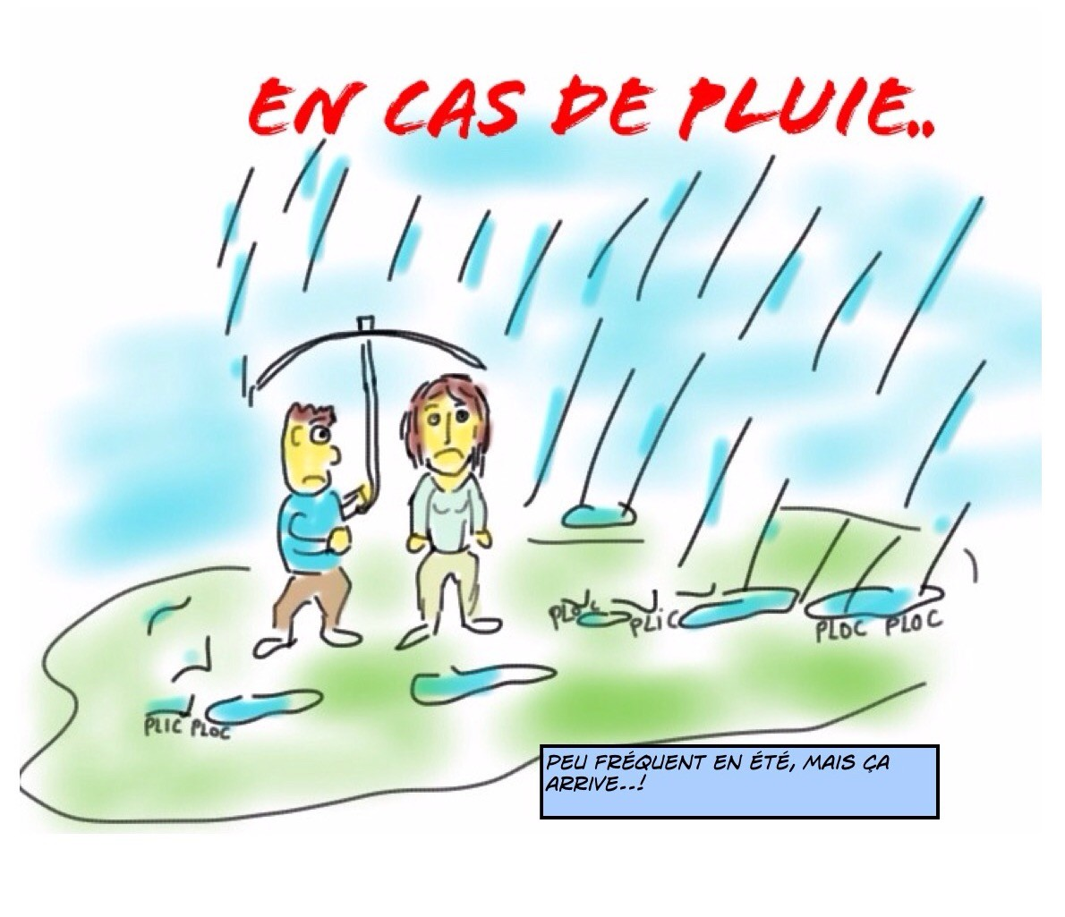 Et s'il pleuvait un peu...