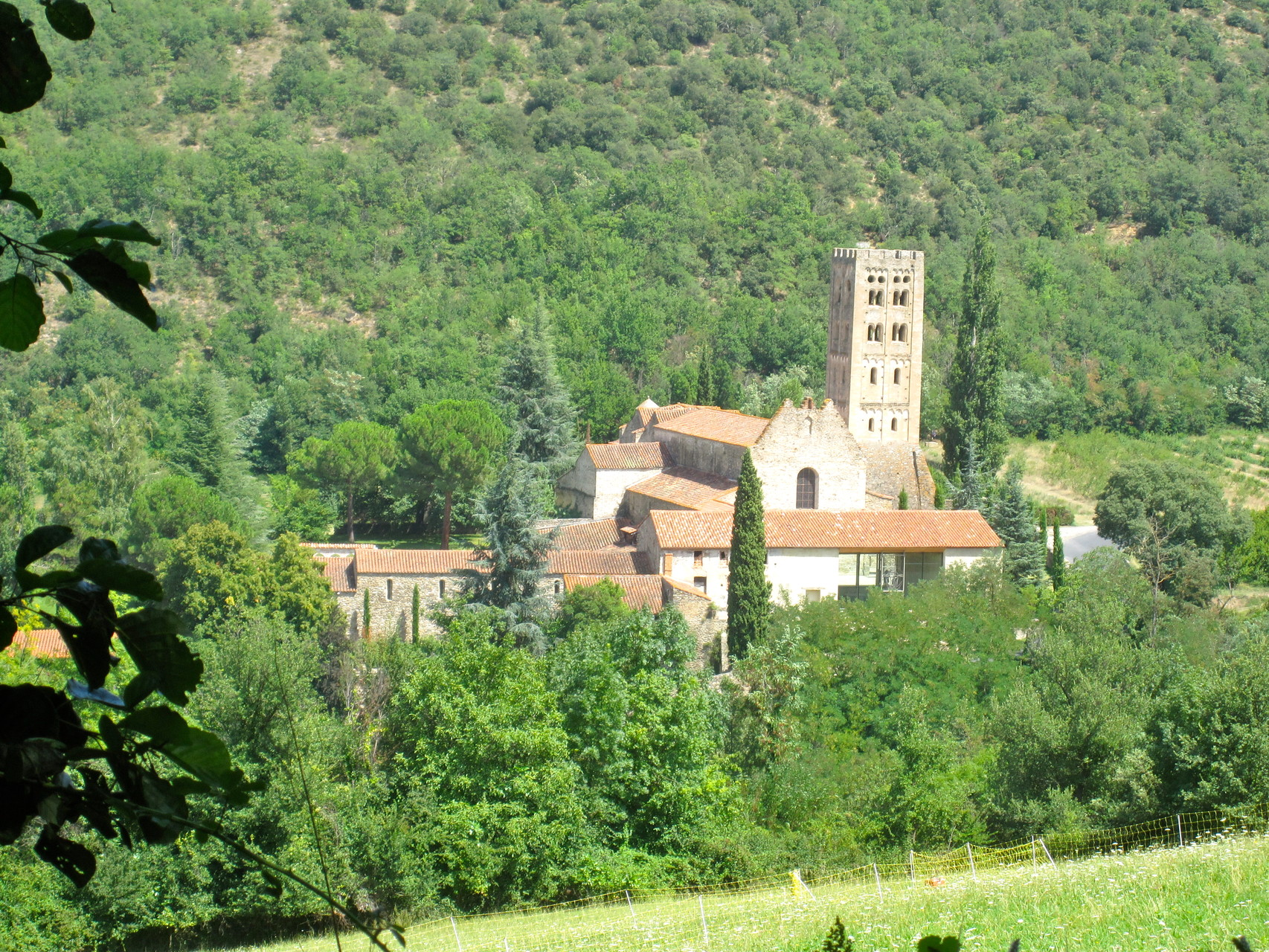 Abbaye saint michel de Cuixa (en voiture..)