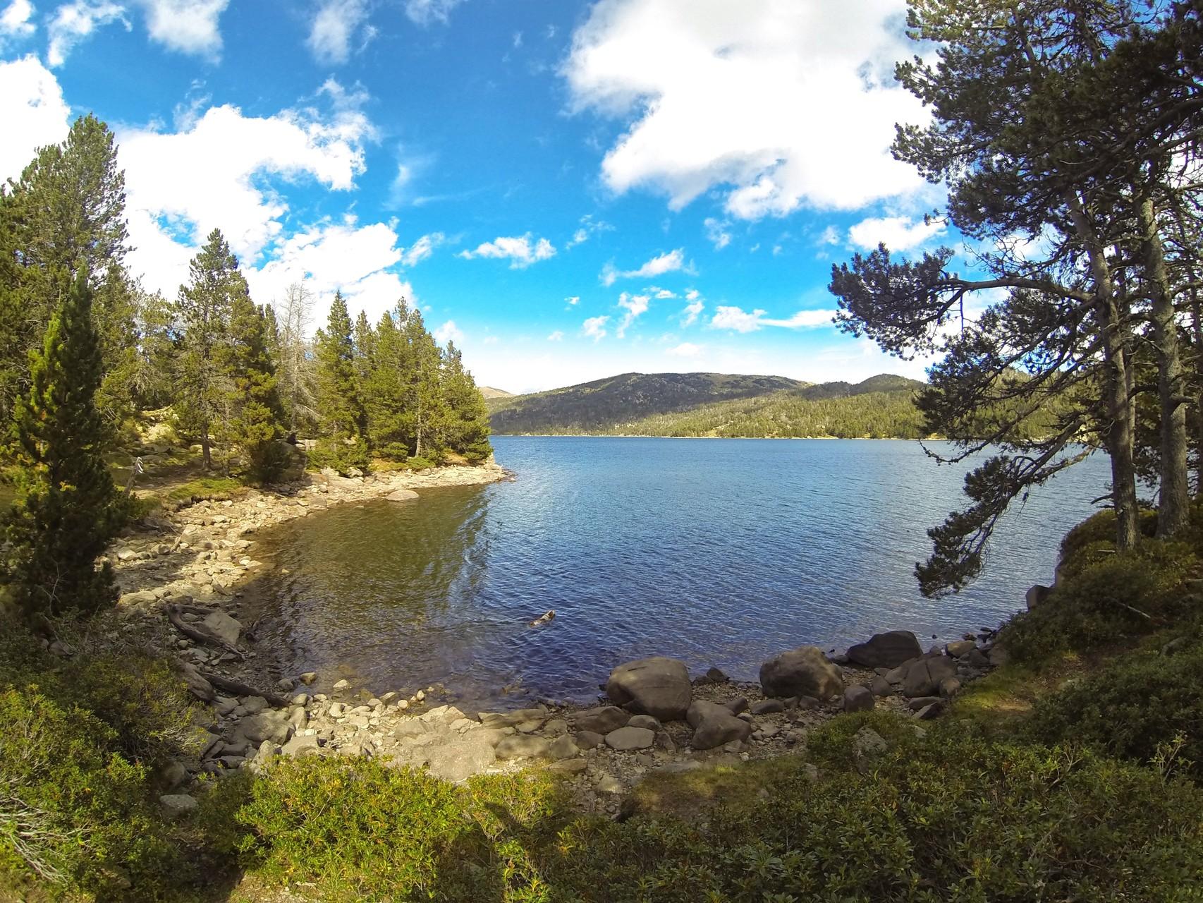 Le lac des bouillouses (en voiture)