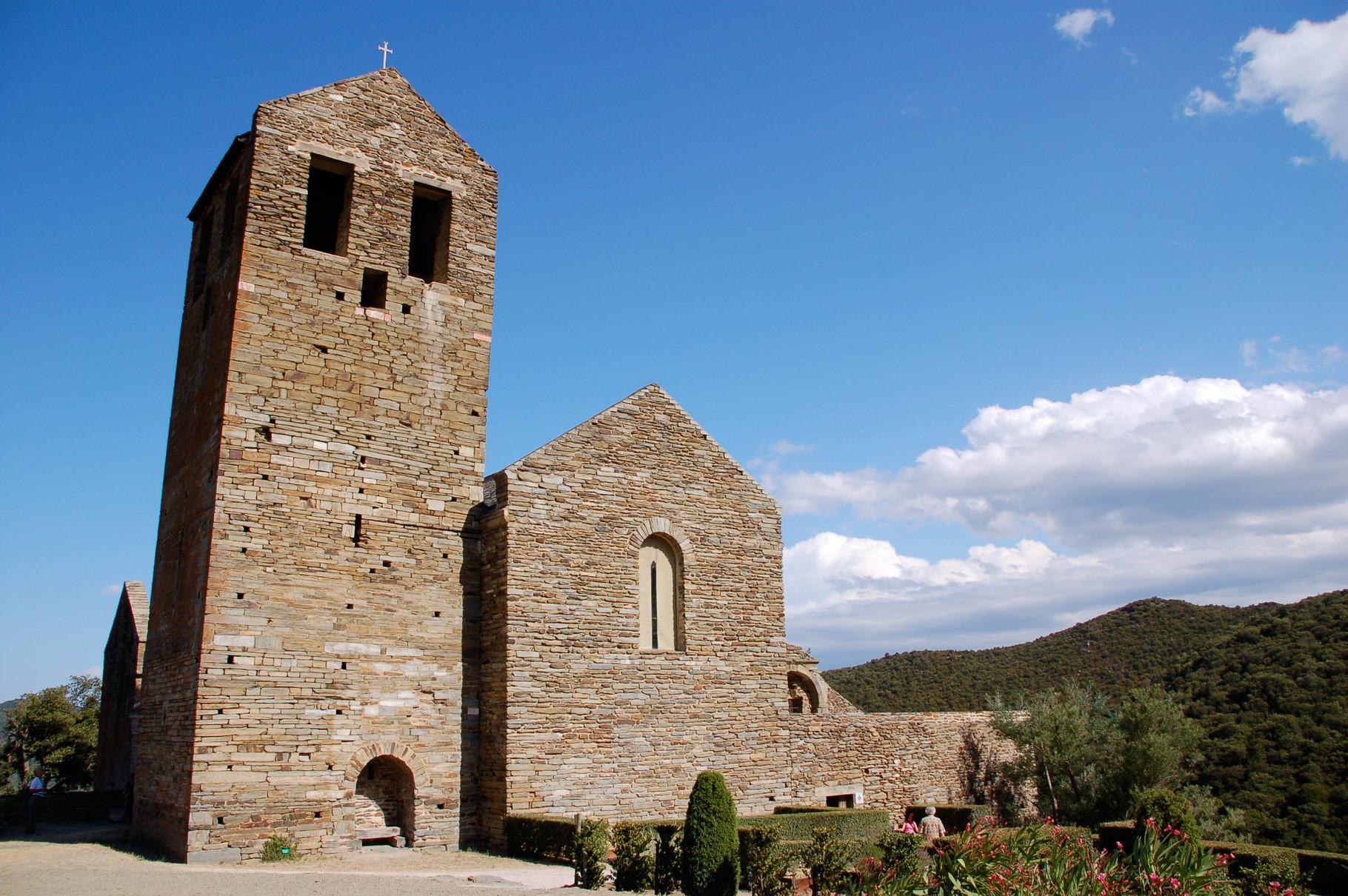 Le prieuré de Serrabone. Belle excursion