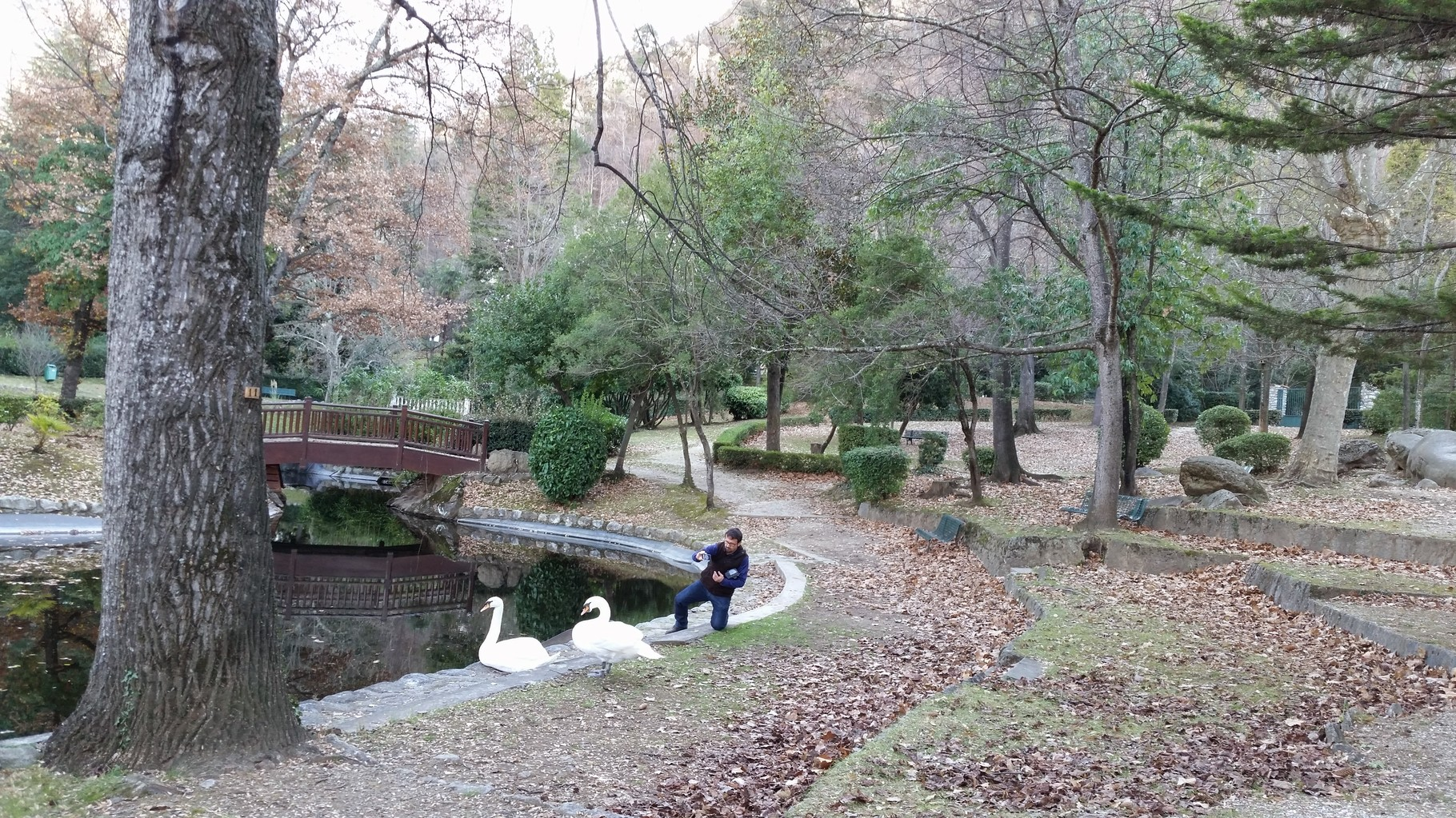 le parc Charles Trénet (150 mètres), beau et reposant