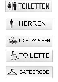 Basel-Schlüsseldienst Tür-Schilder