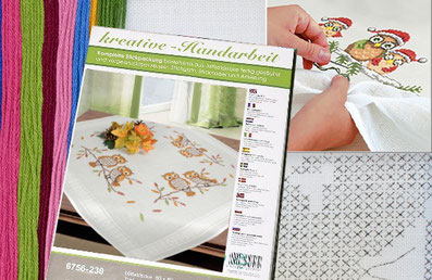 tablecloth embroidery kit