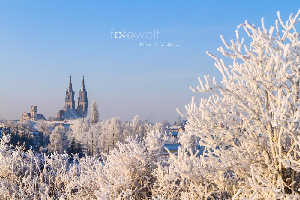 Winterlandschaft um Oschatz