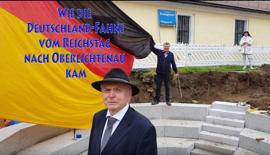 Fahnen-Appell in Oberlichtenau