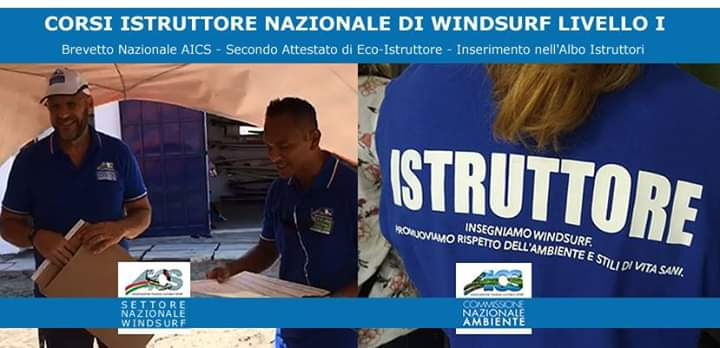 Windsurf Talamone Corso Istruttori AICS