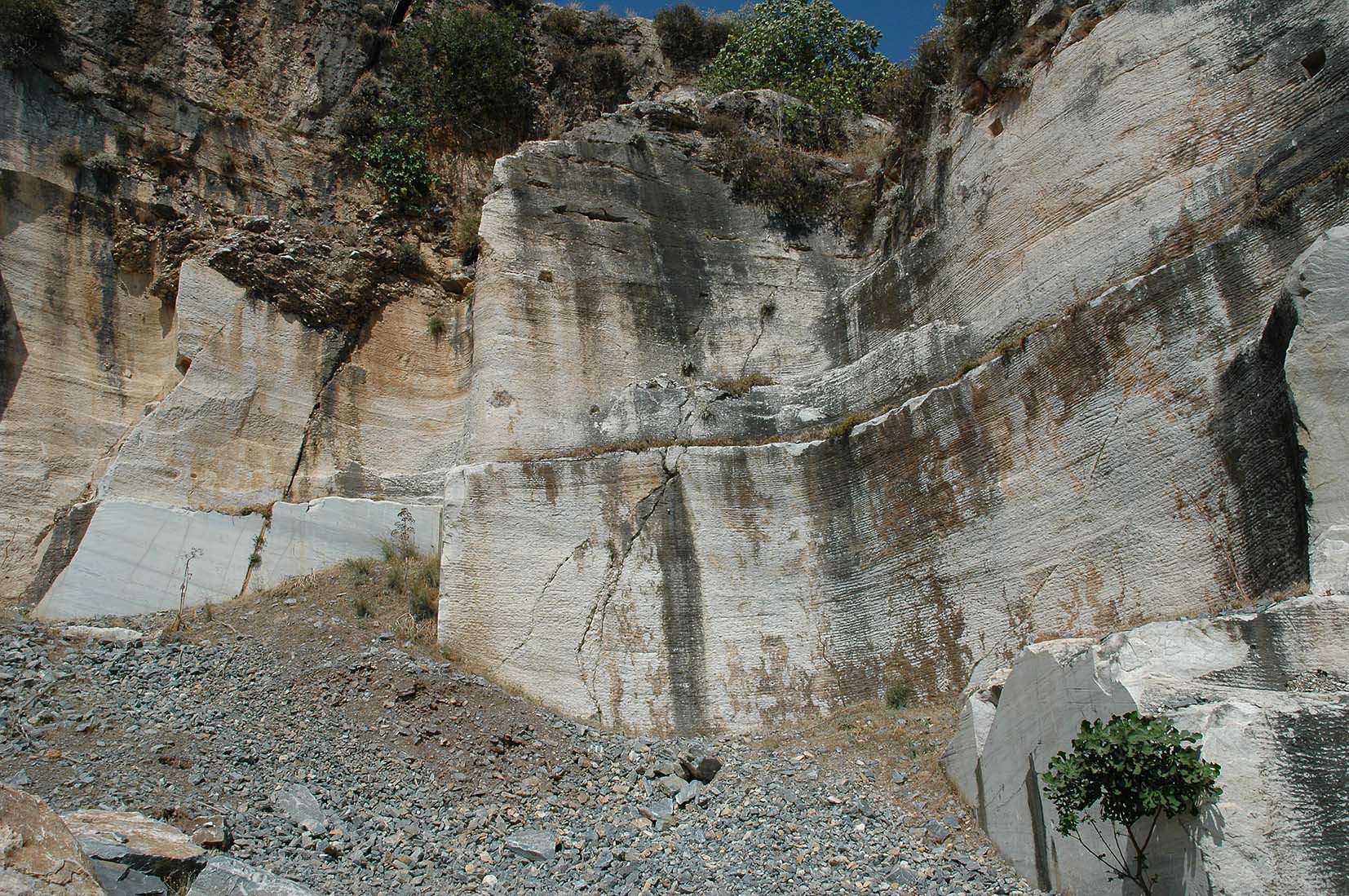 Belevi quarry next to Ephesos (Artemision I)