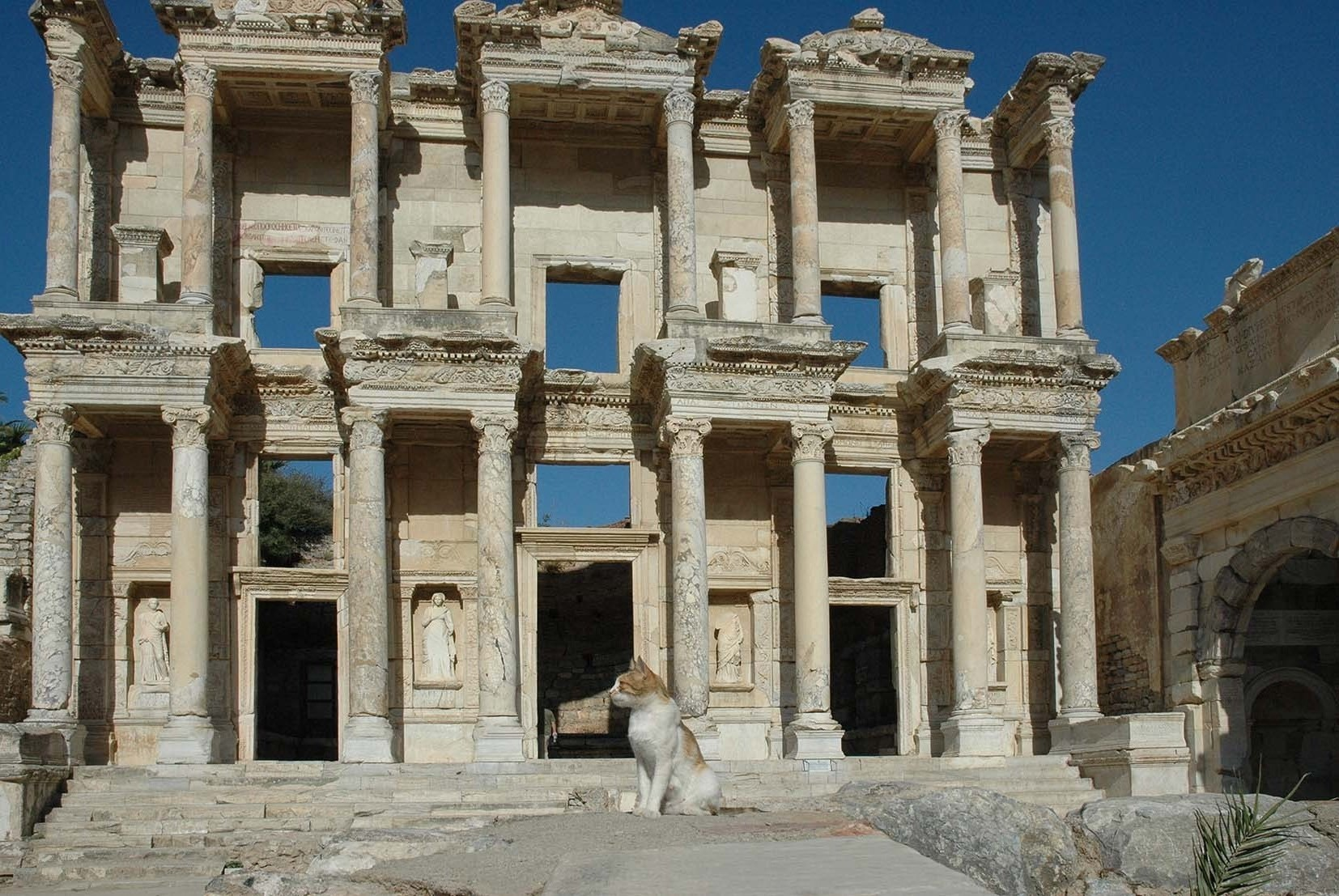 Celsus library in Ephesos