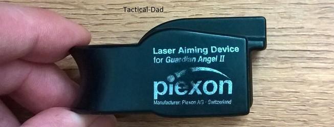 Laservisier für den Guardian Angel 2.