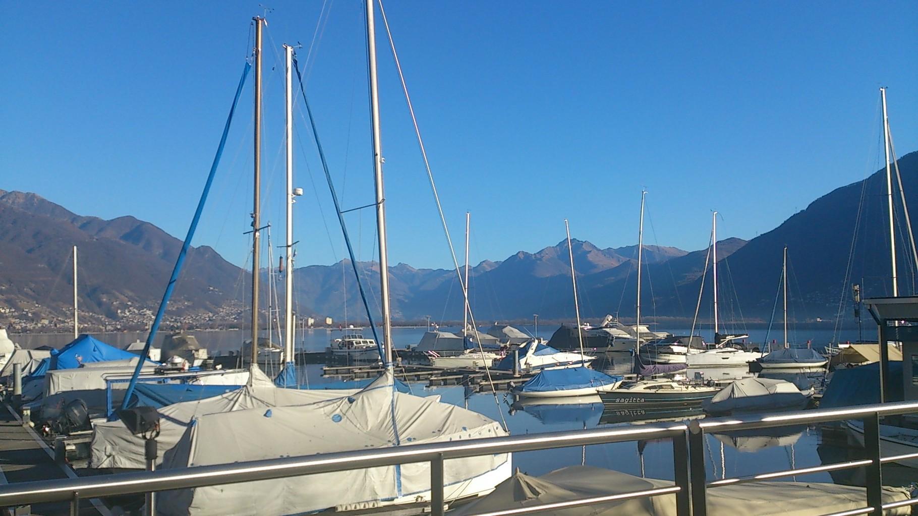 Hafen von Locarno