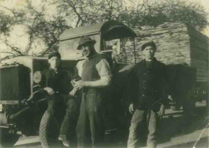 Transport in den Anfangsjahren