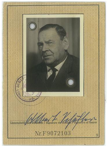 Firmengründer Albert Schäfler