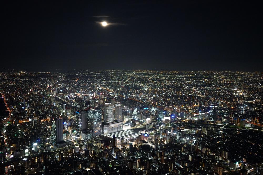 名古屋の夜景をお楽しみください